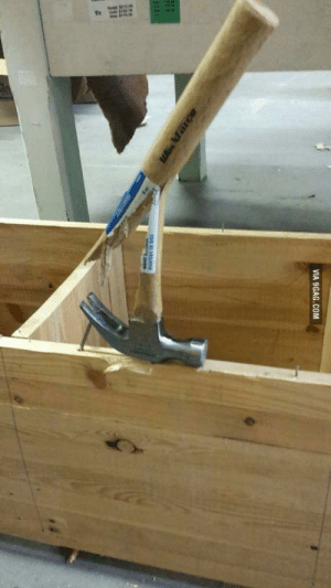 9gag, Chinese, and Com: VIA 9GAG.COM German nail and Chinese hammer
