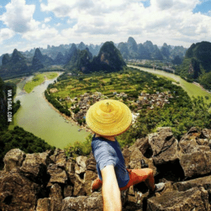Greetings from China, its not always polluted here!: VIA 9GAG.COM Greetings from China, its not always polluted here!