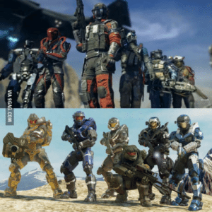 9gag, Mighty, and Com: VIA 9GAG.COM Infinite Warfare looks mighty familiar..