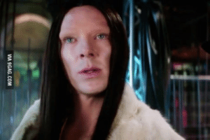 9gag, Zoolander, and Benedict Cumberbatch: VIA 9GAG.COM Is no one going to talk about Benedict Cumberbatchs role in Zoolander 2?