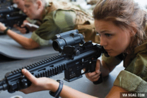 9gag, Norway, and Women: VIA 9GAG.COM Norway has introduced compulsory military service for women