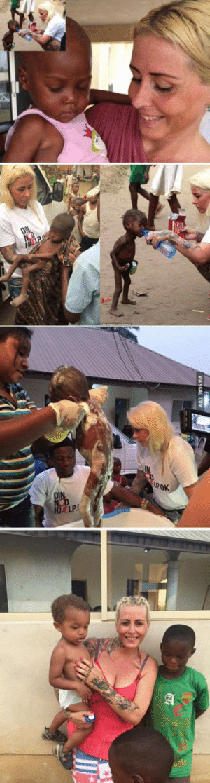 The miracle of hope happens to a Nigerian boy whose parents abandoned him because they claim he was a wizard.: VIA 9GAG.COM The miracle of hope happens to a Nigerian boy whose parents abandoned him because they claim he was a wizard.