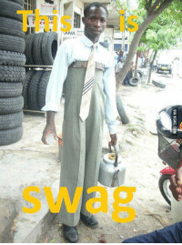 This is real swag