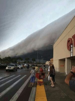 9gag, Today, and Austin: VIA 9GAG.COM This was the sky today in Austin, TX (USA)
