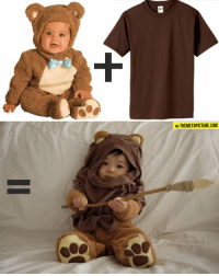 VIA THEMETAPICTURE.COM srsfunny:  Bear Costume + Brown T-Shirt = Pure Awesomeness