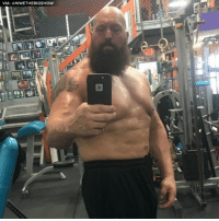 Memes, Shaq, and World Wrestling Entertainment: VIA  WWE THEBIGSHOW Shaq better watch his back, because Big Show is getting JACKED.