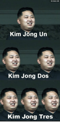 Supreme leader goes global!: VIA9GAG.COM  Kim Jong Un  Kim Jong Dos  Kim Jong Tres Supreme leader goes global!