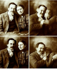 Smile, Victorian, and Photo: Victorian couple trying not to smile while taking a photo