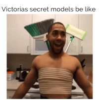 Realistically they could make an actual trash can on their back look better than anything i've ever worn tho (vine: Christian Lemke): Victorias secret models be like Realistically they could make an actual trash can on their back look better than anything i've ever worn tho (vine: Christian Lemke)