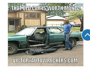 Victory Auto Wreckers clearly don't even know what a meme is! (Found on an online news article): Victory Auto Wreckers clearly don't even know what a meme is! (Found on an online news article)