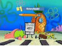 VICTORY SCREEECH: Victory Royale! VICTORY SCREEECH