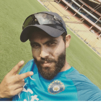 Memes, Indian, and 🤖: Victory selfie from Indian all rounder Ravindra Jadeja