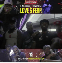 """SPONSORED: NEWMUSIC @kingblessbx ft @daveeast """"Love & Fear"""" dir. by @visuals_by_dna KingBless DaveEast NYC BlueChipMafia: VIDED OUT NOW  KING BLESS FI DAVE EAST  LOVE G FEAR  WATCH NOW ON ORLDSTARAIPHOPCOM SPONSORED: NEWMUSIC @kingblessbx ft @daveeast """"Love & Fear"""" dir. by @visuals_by_dna KingBless DaveEast NYC BlueChipMafia"""