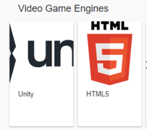 Google knows real devs: Video Game Engines  HTML  un  5  HTML5  Unity Google knows real devs