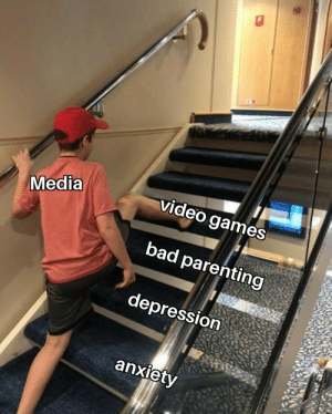It's still there: video games  Media  bad parenting  depression  anxiety It's still there