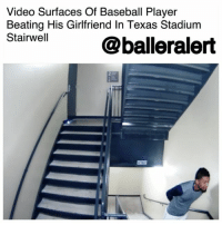 "Baseball, Fall, and Life: Video Surfaces Of Baseball Player  Beating His Girlfriend In Texas Stadium  Stairwell  @balleralert  圈 Video Surfaces Of Baseball Player Beating His Girlfriend In Texas Stadium Stairwell - blogged by @MsJennyb (Video @tmz_tv) ⠀⠀⠀⠀⠀⠀⠀⠀⠀ Former Houston Astros minor-leaguer, DanryVasquez has been kicked off a professional team in Pennsylvania after video surfaced of a domestic violence incident with his girlfriend. ⠀⠀⠀⠀⠀⠀⠀⠀⠀ Vasquez was arrested back in 2016 for the incident, where he assaulted his girlfriend in a Texas stadium. However, the case was dropped after the girlfriend refused to press charges. As a result, Vasquez went on with his life with a career. ⠀⠀⠀⠀⠀⠀⠀⠀⠀ He eventually signed with Lancaster Barnstormers of the Atlantic League of Professional Baseball, since the Astros' minor league affiliate dropped him in the wake of the incident. He was also ordered to complete anger management as a form of probation. However, once the terms were complete, the case was formally dismissed on March 6. ⠀⠀⠀⠀⠀⠀⠀⠀⠀ Now though, in the wake of the resurfacing of the surveillance footage from the incident, Vasquez has lost his job and has been reduced to a woman beater. (Well, at least that's what his Wikipedia page says.) ⠀⠀⠀⠀⠀⠀⠀⠀⠀ ⠀⠀⠀⠀⠀⠀⠀⠀⠀ ""There is no choice but to sever the relationship,"" the team's manager said in a statement. ""Neither I nor the Barnstormers' organization as a whole, can condone or associate with that behavior."" ⠀⠀⠀⠀⠀⠀⠀⠀⠀ ⠀⠀⠀⠀⠀⠀⠀⠀⠀ In the video obtained by KRIS-TV, Vasquez is seen walking into the stairwell at Whataburger Field in Corpus Christi with his girlfriend on Aug. 2. When the door closes behind him, he immediately slaps his girlfriend across the face. He then grabs her hair and drags her down the stairs before hitting her again. He then leaves and returns to hit her once more, making her fall to the ground."