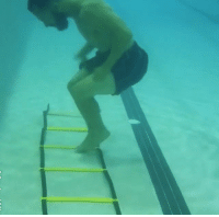 Video: This underwater swimming pool footwork drill will blow your mind! Watch >: Video: This underwater swimming pool footwork drill will blow your mind! Watch >