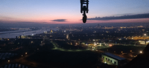 View from the top of a crane: View from the top of a crane