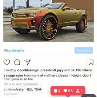 YALL FUCKING CALLED IT BRUH 😭😭😭 this shit wild, @worldstar why don't y'all just contact me and pay me to be a social media manager since y'all clearly need me so much 💀 - I made this shit on Twitter and didn't watermark it just to show y'all lmao. Shits wild: View Insights  Promote  Liked by icecoldsavage, presidentt.jayy and 32,136 others  savagerealm How many of y'all have played midnight club  That game is so fire  View all 424 comments  child molester HELL YEAH  4 95 21  2 DAYS AGO YALL FUCKING CALLED IT BRUH 😭😭😭 this shit wild, @worldstar why don't y'all just contact me and pay me to be a social media manager since y'all clearly need me so much 💀 - I made this shit on Twitter and didn't watermark it just to show y'all lmao. Shits wild