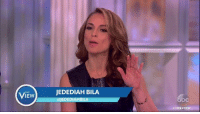 """Doe, Megyn Kelly, and Memes: VIEw  JEDEDIAH BILA  EDEDIAHB  THEVIEW """"She is tough on everyone,"""" Jedediah Bila says of Megyn Kelly's retort to Newt Gingrich. """"She's actually one of the people in this business who does her job."""" http://abcn.ws/2dKNteP"""