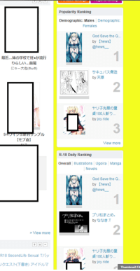 triple 1st rank on R18 category. on Pixiv r18 front page xd Daily, Overall Rank and Male Demographic  T-thanks guys, i love u all  ;;;;respective links;;;;;  総合R-18デイリーランキング #1 http://www.pixiv.net/ranking.php?mode=daily_r18&date=20160824#1  イラストR-18デイリーランキング #1 http://www.pixiv.net/ranking.php?mode=daily_r18&content=illust&date=20160824#1  R-18男子に人気 #1 http://www.pixiv.net/ranking.php?mode=male_r18&date=20160824#1: View more  R18 Second Life Sexual T/fy  Popularity Ranking  Demographic: Males Demographic  Females  God Save the Q.  by Chews]  Chews  by  by joy ride  View more  R-18 Daily Ranking  Overall  Illustrations Ugoira Manga  God Save the Q  by Chews)  @hews  by 33a.T  by joy ride  Thumbnail Fil triple 1st rank on R18 category. on Pixiv r18 front page xd Daily, Overall Rank and Male Demographic  T-thanks guys, i love u all  ;;;;respective links;;;;;  総合R-18デイリーランキング #1 http://www.pixiv.net/ranking.php?mode=daily_r18&date=20160824#1  イラストR-18デイリーランキング #1 http://www.pixiv.net/ranking.php?mode=daily_r18&content=illust&date=20160824#1  R-18男子に人気 #1 http://www.pixiv.net/ranking.php?mode=male_r18&date=20160824#1