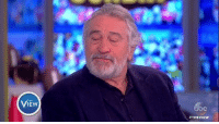 "Memes, The View, and Robert De Niro: VIEw  #THE VIEW ""How dare he say the things he does! Of course I want to punch him in the face."" Robert De Niro clarifies his previous comments on Pres. Donald J. Trump. ""It was only a symbolic thing anyway — it wasn't like I was gonna go find him and punch him in the face, but he's gotta hear it."""