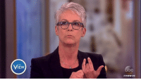 """Memes, Jamie Lee Curtis, and Divorce: VIEw  VIEW 20 ICYMI: Jamie Lee Curtis speaks out against the """"public shaming"""" of public figures going through divorce."""