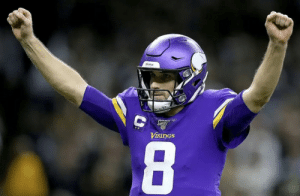 FACT: Kirk Cousins has more playoff victories this decade than Tom Brady, Aaron Rodgers and Drew Brees combined 🐐 https://t.co/NMA9rB19Ao: VIKINGS  8 FACT: Kirk Cousins has more playoff victories this decade than Tom Brady, Aaron Rodgers and Drew Brees combined 🐐 https://t.co/NMA9rB19Ao