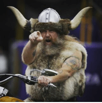 Vikings mascot Ragnar parts ways with team after reportedly asking for $20K per game for the next 10 years. WHAT ❓❓❓: Vikings mascot Ragnar parts ways with team after reportedly asking for $20K per game for the next 10 years. WHAT ❓❓❓