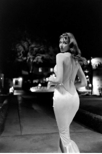 Vikki Dougan, the model who inspired Jessica Rabbit, the 1950s.: Vikki Dougan, the model who inspired Jessica Rabbit, the 1950s.