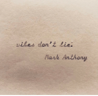 Lie,  Dont, and Lank: viles don't Lie.  lank Anthony