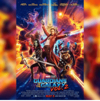NEW Guardians Of The Galaxy Vol. 2 poster! 🔥: VIN  BRADLEY  CHRIS  ZOE  DAVE  KURT  PRATT SALDANA BAUTISTA DIESEL COOPER  AND RUSSELL  OF  THE  IN 30, REAL D 3D  AND IMAX 3D NEW Guardians Of The Galaxy Vol. 2 poster! 🔥