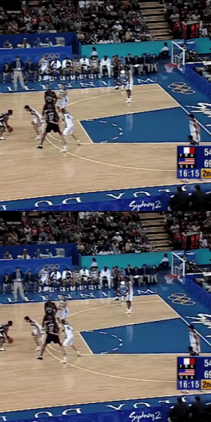 """Vince Carter jumps over 7'2"""" Frédéric Weis during the 2000 Olympics!   https://t.co/9kq95yunoO: Vince Carter jumps over 7'2"""" Frédéric Weis during the 2000 Olympics!   https://t.co/9kq95yunoO"""