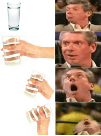Vince is thirsty: Vince is thirsty