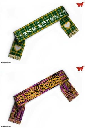 meme-mage:  Push button to generate a design. Random design football / soccer /  fandom scarf is knitted from this design, not printed or embroidered.Custom scarves and blankets directly from the maker.What a lovely gift or present for a plethora of occasions.http://zufallsschal.de/en/: vinuuinU  OVe NorenZe  Wildemasche   ES8KO Beast  Wildemasche meme-mage:  Push button to generate a design. Random design football / soccer /  fandom scarf is knitted from this design, not printed or embroidered.Custom scarves and blankets directly from the maker.What a lovely gift or present for a plethora of occasions.http://zufallsschal.de/en/