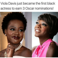 repost @blackbeautyradar Blacktivist hotnews black africanamerican blackpower proudtobeblack blackbusiness blackunity blackis melanin icantbreath neverforget sayhername blackhistorymonth blacklivesmatter blackpride blackandproud dreamchasers blackgirls blackwomen blackman westandtogether altonsterling philandocastile: Viola Davis just became the first black  actress to earn 3 Oscar nominations! repost @blackbeautyradar Blacktivist hotnews black africanamerican blackpower proudtobeblack blackbusiness blackunity blackis melanin icantbreath neverforget sayhername blackhistorymonth blacklivesmatter blackpride blackandproud dreamchasers blackgirls blackwomen blackman westandtogether altonsterling philandocastile