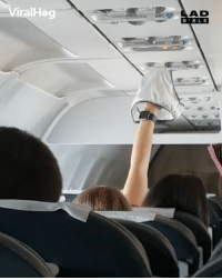 Abc, Memes, and The Worst: ViralHog  AD  BBL E  ABC And the award for the worst airline passenger goes to... 🤢