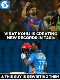 Mohammad Shahzad - The new T20 blaster.: VIRAT KOHLI IS CREATING  NEW RECORDS IN T2ols  SHAH  & THIS GUY IS REWRITING THEM Mohammad Shahzad - The new T20 blaster.