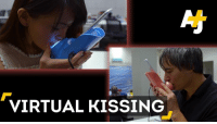 Long-distance kissing. This phone attachment makes it possible.: VIRTUAL KISSING Long-distance kissing. This phone attachment makes it possible.