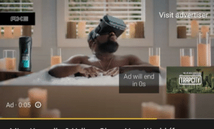 Axe, Will, and End: Visit advertiser  AXE  Ad will end  in 0s  TRAPCITY  Ad 0:05 Obviously it won't