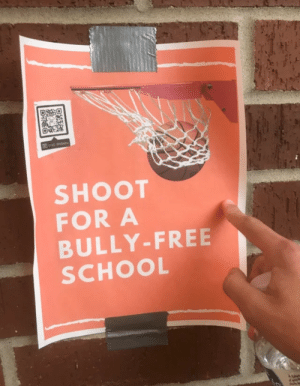 bully: Visit Website  SHOOT  FOR A  BULLY-FREE  SCHOOL