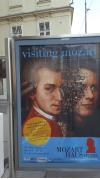 Target, Tumblr, and Blog: visiting mozart  Sonderausstellung  Special Exhibition  16.2.18 -27. 1.19  Mozarts Weg in die Unsterblichkeit.  Das Conie und die Nachwelt  Mozart's path to immortality  The genius and his legacy  1010 Wien, Domgasse 5  tigaeh ae o uhareMOZART  www.mozarthausvienna.at  HAUS VIENNA  mjt WIEN MUSEUM MOZARTWOHNUNG  mehr wien zum leben  Österreichische  Nationalbibliothek nannerlmozartofficial:  newtonscamader: I can't believe Mozart died in Infinity War Herr Salieri I dont feel so good.