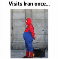 Memes, Baba, and Iran: Visits Iran once... Well spidey has mastered the baba stance 😂😂😂😂😂 persianmeme persianmemes persianvine persianfun persianfunny instapersia instapersian iran iranian instairan instairanian fars farsi khandedar persianmen persianwomen khande aftabe tahdig tahdeeh persiangirls persianproblems persianlife tehranimage persianpranks persian persionality persianinstagram iran