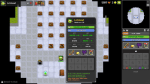 Visual Bug on Exalt and how to do it: Click on user's name at the top left corner, put your mouse over a character, then change rooms. The box follows the mouse, you can still shoot and interact with things such as portals and chests and to get rid of it you just need to repeat the first 2 steps.: Visual Bug on Exalt and how to do it: Click on user's name at the top left corner, put your mouse over a character, then change rooms. The box follows the mouse, you can still shoot and interact with things such as portals and chests and to get rid of it you just need to repeat the first 2 steps.