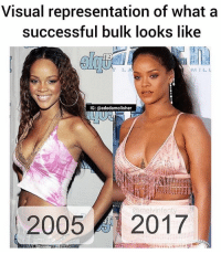 When bulk is life: Visual representation of what a  successful bulk looks like  0  NS IL L  IG: @adedamolisher  @melvinfent  2005 2017 When bulk is life