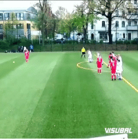 Memes, Free, and 🤖: VISUBAL Have you ever seen a free kick like this one? 😂 ...