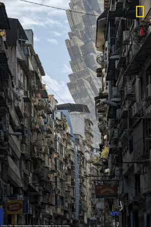 National Geographic, Travel, and Yes: VITESDY  OPAUL TSUI/National Geographic Travel Photographer of the Year Contest  10% Yes, this is a REAL photo. I had to look twice, too. It's Macau