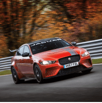 It's official! The Jaguar XE SV Project 8 has lapped the Nurburgring in an astonishing 7min 21.23sec, making it the world's fastest four-door car! Check out the full lap over on our Facebook page later today 🙌: VK67 FDL It's official! The Jaguar XE SV Project 8 has lapped the Nurburgring in an astonishing 7min 21.23sec, making it the world's fastest four-door car! Check out the full lap over on our Facebook page later today 🙌