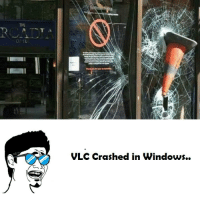 vlc: VLC Crashed in Windows.