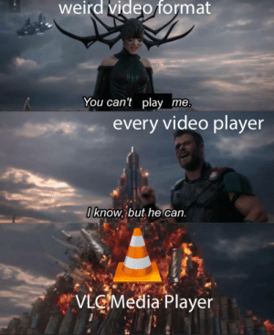 VLC for the win: VLC for the win
